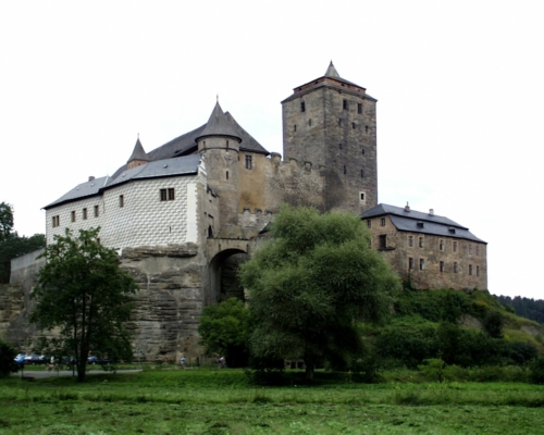 Kost castle.Built in the 14th century