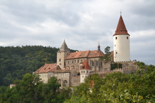 Krivoklat castle, 12th century.One of the oldest ancient castle in the Czech Republic.
