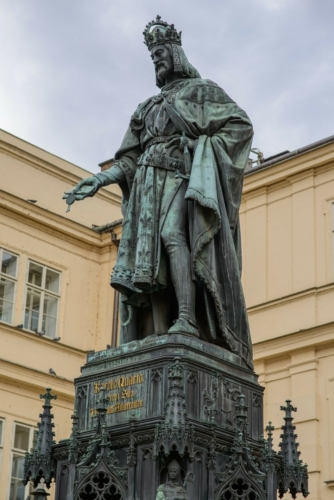 Charles IV.One of the most influential Czech king. He also became Holy Roman Emperor.