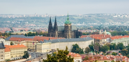 Prague castle was a seat of power for dukes and kings of Bohemia (Czech) from 10th century. Since 1918 it is an office of president.